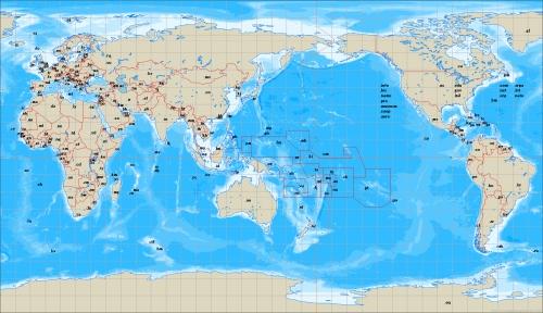 ccTLD map