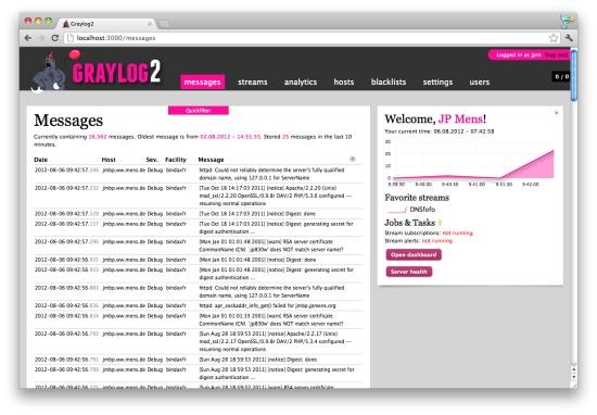 Graylog2-Web