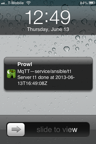 Prowl on iOS