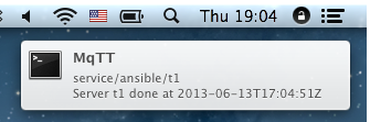OSX notifier