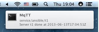 OSX notifier
