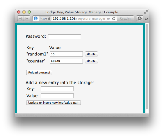 HTTP access