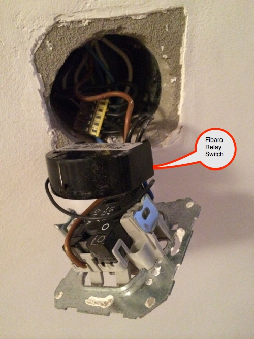 Installing micro switch