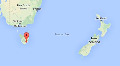 OwnTracks in Tasmania