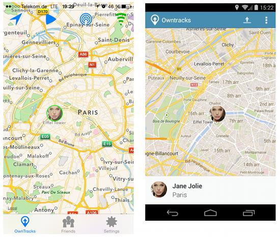 Screenshots iOS/Android