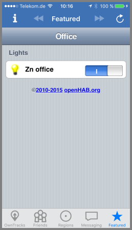 openhab sitemap