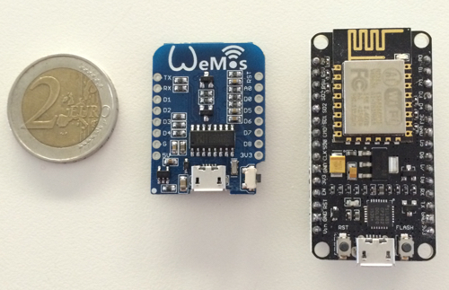 Wemos-D1 and NodeMCU