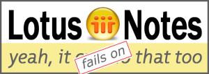 Notes Fails