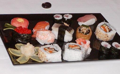 Self-made sushi