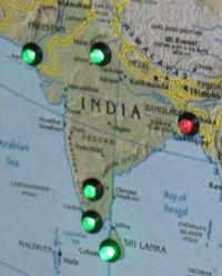 Nagios map